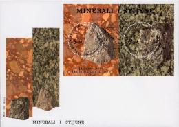 Croatia 2012, FDC, Minerals And Rocks