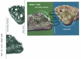 Croatia 2014, FDC, Minerals And Rocks