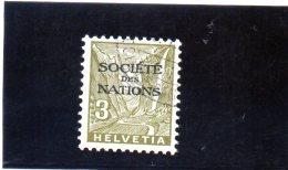 B - 1934/5 -  Svizzera - Societa Delle Nazioni - Paesaggi - Servizio