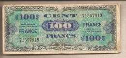 Francia - Banconota Circolata Da 100 Franchi - 1944 - 1871-1952 Circulated During XXth