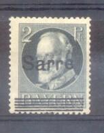 SARRE SAAR AN 1920 TIMBRES D´ALLEMAGNE(BAVIERE) YVERT NR. 17B MNH AVEC 3 CERTIFICATIONS D´EXPERTS AU DOS - Ongebruikt