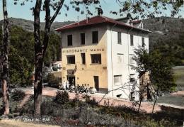 """06375 """"CASE DI NAVA - PORNASSIO (IM) - RISTORANTE MAINO """" ANIMATA. CART. ILL. ORIG. SPEDITA 1962 - Otras Ciudades"""