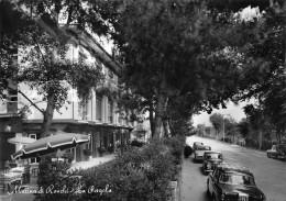 """06380  """"MARINA DI RONCHI (MS) - LA PERGOLA"""" AUTO ANNI '50 / '60. CART. ILL. ORIG. SPEDITA 1962 - Italia"""