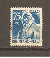 Alemania-Germany  Rheinland Nº Yvert  13 (usado) (o) - Zona Francesa