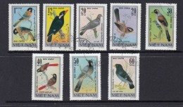 Birds -  1978 Set 8 CTO From Vietnam