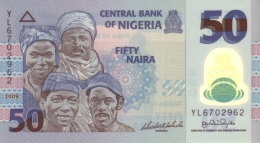 NIGERIA 50 NAIRA 2009 P-41 UNC 7 DIGIT SER. SIGN. 17.  [ NG236a ] - Nigeria