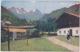 Am Eingang Ins Blühnbach Werfen Salzburg Österreich Oostenrijk Austria - Werfen