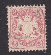 Bavaria, Scott #24, Used, Coat Of Arms, Issued 1870 - Bavaria