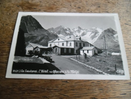 CPA Des Alpes - Le Lautaret - L'Hôtel Des Glacier Et La Meije - N°8107. 7 - Daté 1936 - Other Municipalities