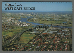 U6106 AUSTRALIA MELBOURNE WEST GATE BRIDGE VG SB BROKEN (m) - Melbourne