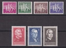 BELGICA 1955 -  Serie Completa Nueva Sin Fijasellos Yvert Nº 979/985