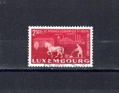 Luxemburg 1951 Mi 481 O Used - KW 25 EUR !  -  R706