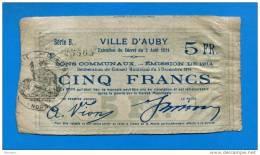 Auby  2/8/1914  5  Fr  59/154 - Bonos