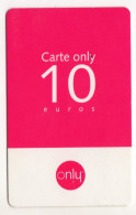 ANTILLES FRANCAISES  Recharge ONLY 10€ - Antilles (Françaises)