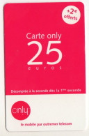 ANTILLES FRANCAISES  Recharge ONLY 25€ - Antillen (Frans)