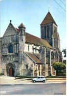 14150 OUISTREHAM - RIVA BELLA - L'église Du XIIème Siècle - 4L Renault - Ouistreham