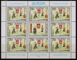 Bosnia 1998 Europa Cept Festival, 2 Mini Sheets MNH - Serbie