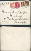 AH134 Lettre De Blankenberghe à Bruges 1938 - Belgique