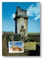 BEJA - Castelo Torre De Menagem - 18.02.1986 - CARTE MAXIMUM - MAXICARD - Portugal - Cartes-maximum (CM)