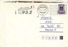 K9654 - Czech Rep. (1997) 347 01 Tachov 1: Radio Sumava FM 95,2 (machine Postmark) Letter; Tariff: 3,60 Kc