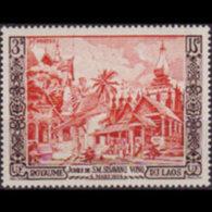 LAOS 1954 - Scott# 26 Laotian Temples 3p MNH
