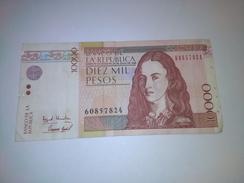 COLOMBIA 1998 10000 PESOS BANKNOTE LOC#A1116 - Bahamas