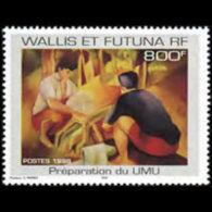 WALLIS & FUTUNA 1998 - Scott# 503 Painting Set Of 1 MNH
