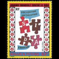 WALLIS & FUTUNA 1998 - Scott# 516 Against Aids Set Of 1 MNH