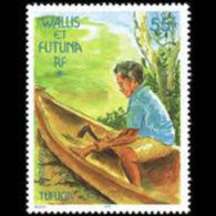 WALLIS & FUTUNA 1999 - Scott# 523 Canoe Set Of 1 MNH