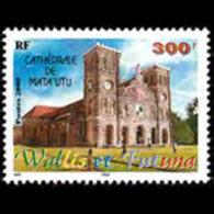 WALLIS & FUTUNA 2000 - Scott# 526 Cathedral Set Of 1 MNH