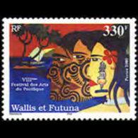 WALLIS & FUTUNA 2000 - Scott# 532 Arts Fest. Set Of 1 MNH
