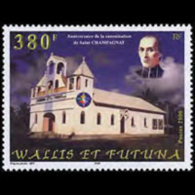 WALLIS & FUTUNA 2000 - Scott# 534 St.Marcellin Set Of 1 MNH