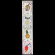 WALLIS & FUTUNA 2001 - Scott# 545 Fruits Set Of 4 MNH