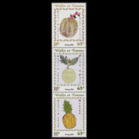 WALLIS & FUTUNA 2001 - Scott# 545a-6a Fruits 65f MNH