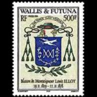 WALLIS & FUTUNA 2004 - Scott# 593 Arms Set Of 1 MNH