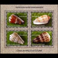 WALLIS & FUTUNA 2005 - Scott# 597 S/S Shells MNH
