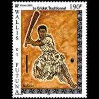 WALLIS & FUTUNA 2005 - Scott# 603 Trad.Cricket Set Of 1 MNH
