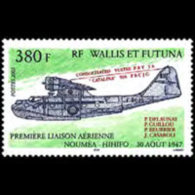 WALLIS & FUTUNA 2005 - Scott# 607 Plane Set Of 1 MNH
