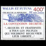 WALLIS & FUTUNA 1993 - Scott# C174 French Rep. Set Of 1 MNH
