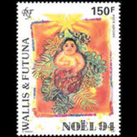 WALLIS & FUTUNA 1994 - Scott# C180 Christmas Set Of 1 MNH