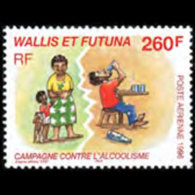 WALLIS & FUTUNA 1996 - Scott# C193 Alcoholism Set Of 1 MNH