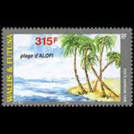WALLIS & FUTUNA 1998 - Scott# C201 Beach Set Of 1 MNH