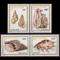 WALLIS & FUTUNA 1999 - Scott# C207-10 Shells Set Of 4 MNH