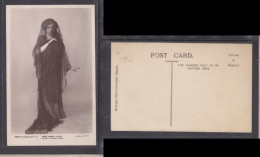Miss Maud Allan, Stage Actress, Photo ByFoulsham & Banfield, Unused - Théâtre