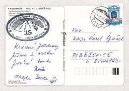 K9579 - Czech Rep. (1997) Snezka (postal Agency) (postcard: Pec Pod Snezkou) (Snezka Mountain - 1602 M.)