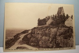 SAINT-VAAST-LA-HOUGUE   ---- La Montagne De LA PERNELLE  - L'EGLISE - Saint Vaast La Hougue