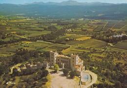 83----FAYENCE---vue Aérienne--le Château Du Puy--voir 2 Scans - Fayence