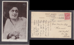 Pola Negri,    Film  Actress,   Photo, Used LONDON 1927 - Actors