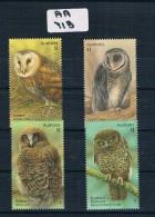 Australia  2016  Owls 4val  Sheet Muh A A713 . - 2010-... Elizabeth II