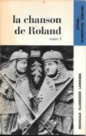 La Chanson De Roland - Tomes 1 Et 2 (avec Documentation Thématique) - Poëzie